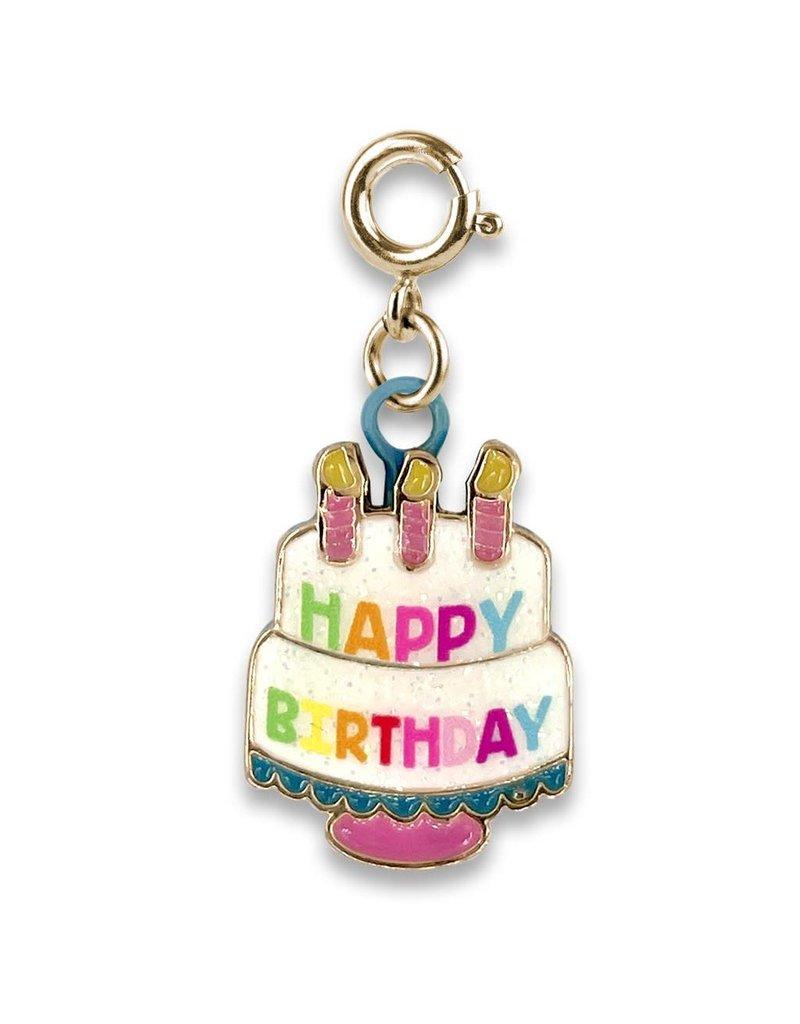 CHARM IT! Gold Birthday Cake Charm