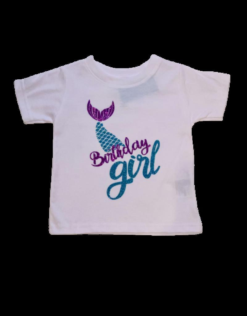 Mermaid Birthday Girl