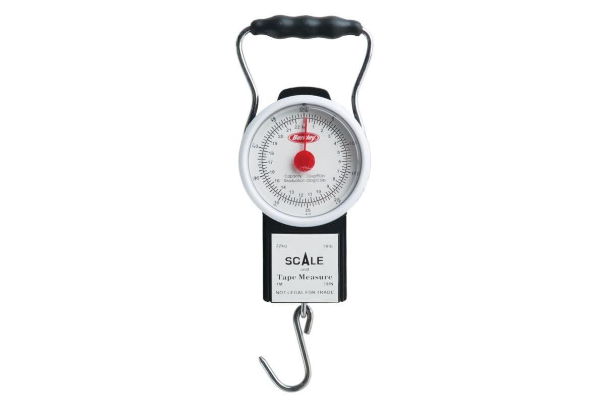 Berkley Portable Scale with Tape - 50lb