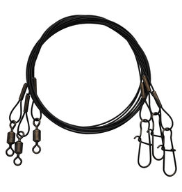 Eagle Claw 08012 - 0813 Heavy Duty Wire Leader - 3 Pack