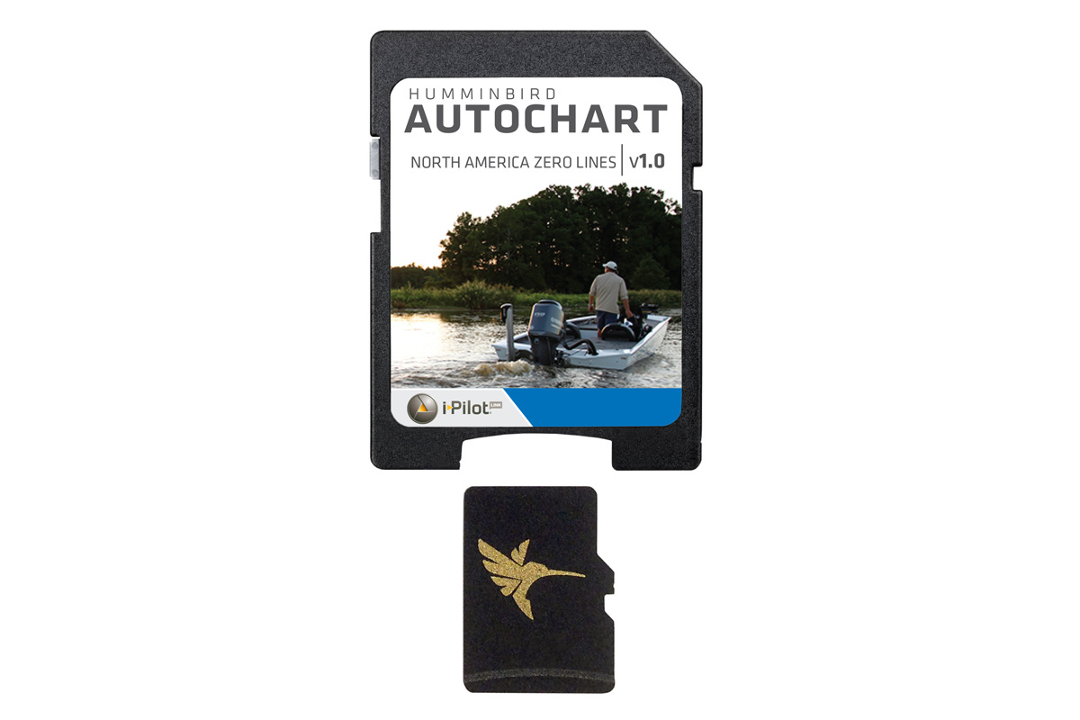 Humminbird AutoChart Zero Line SD Card North America
