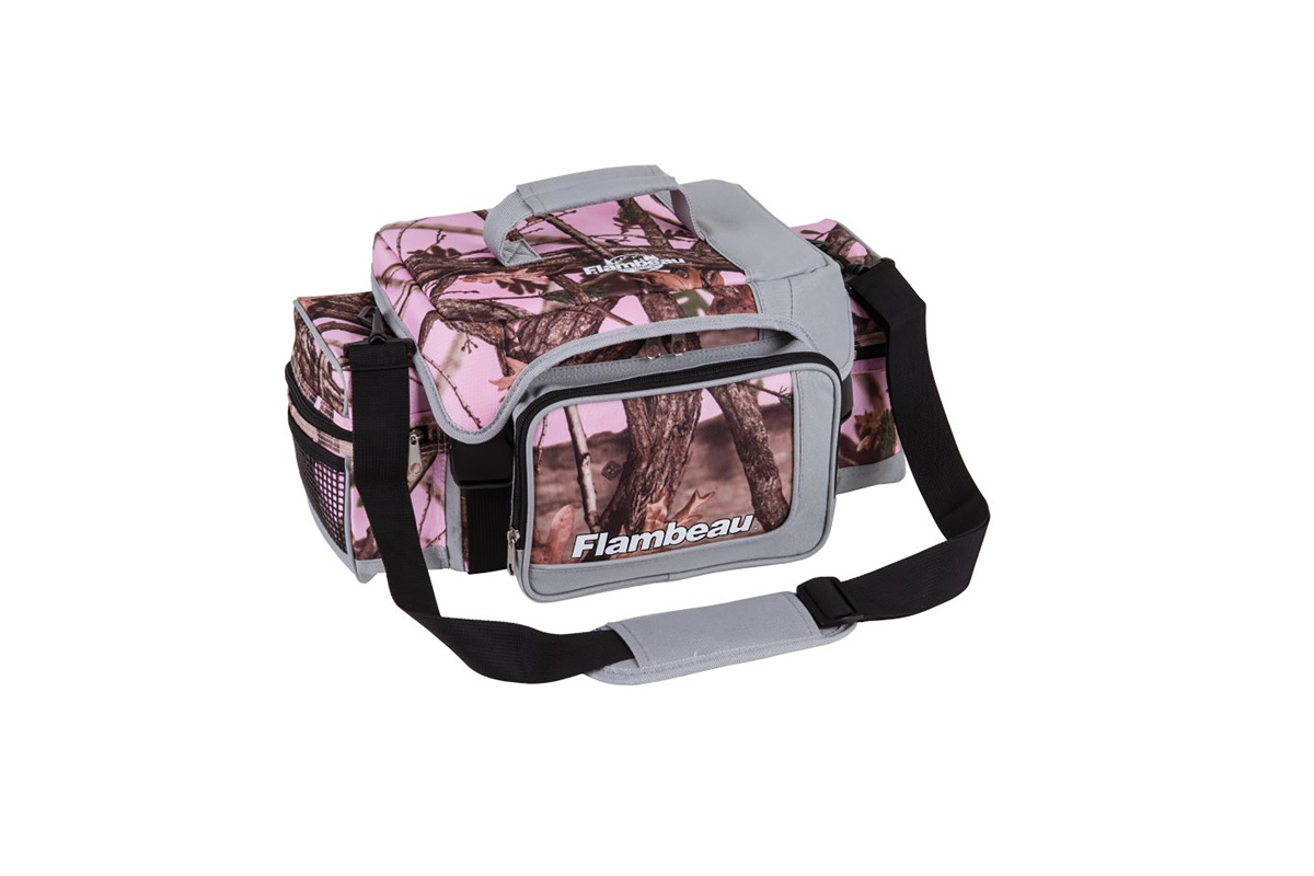 Flambeau Pink Camo Tackle Bag