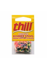 Thill Premium Bobber Stops 18 Pack Assorted Colour
