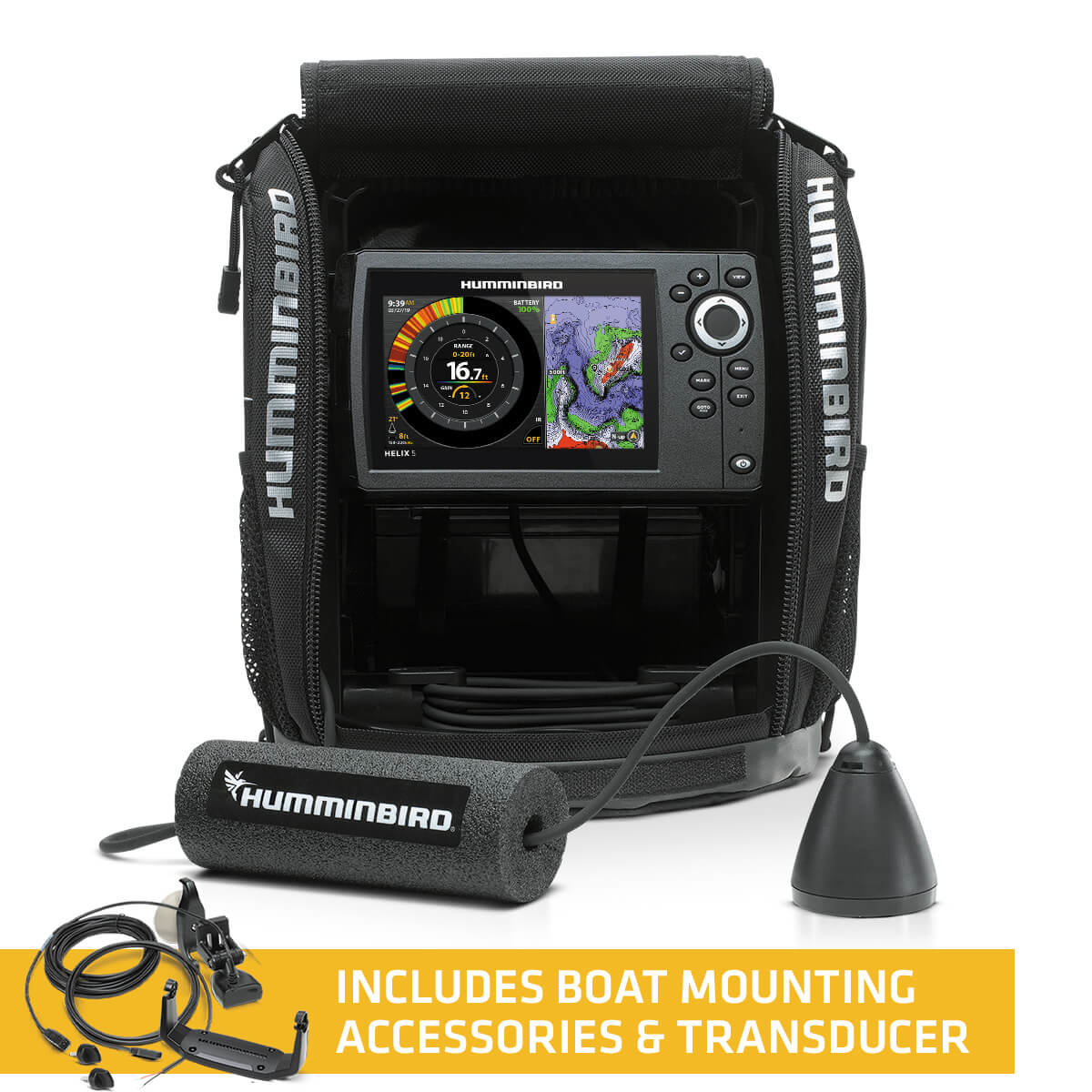Humminbird Ice Helix 5 CHIRP GPS G2 All Season