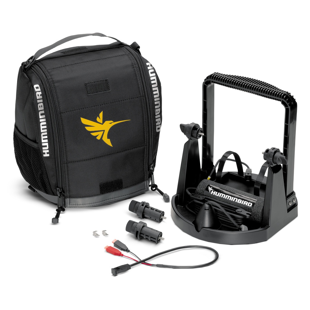 Humminbird Ice PTC CHIRP H57 FB- Portable Ice Kit w/ CHIRP Ice Transducer for HELIX 5/7