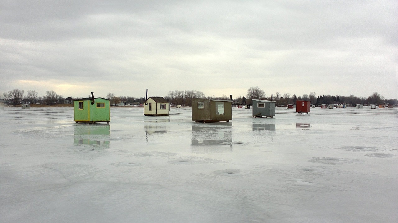 4 Great Ice Fishing Spots in Saskatchewan