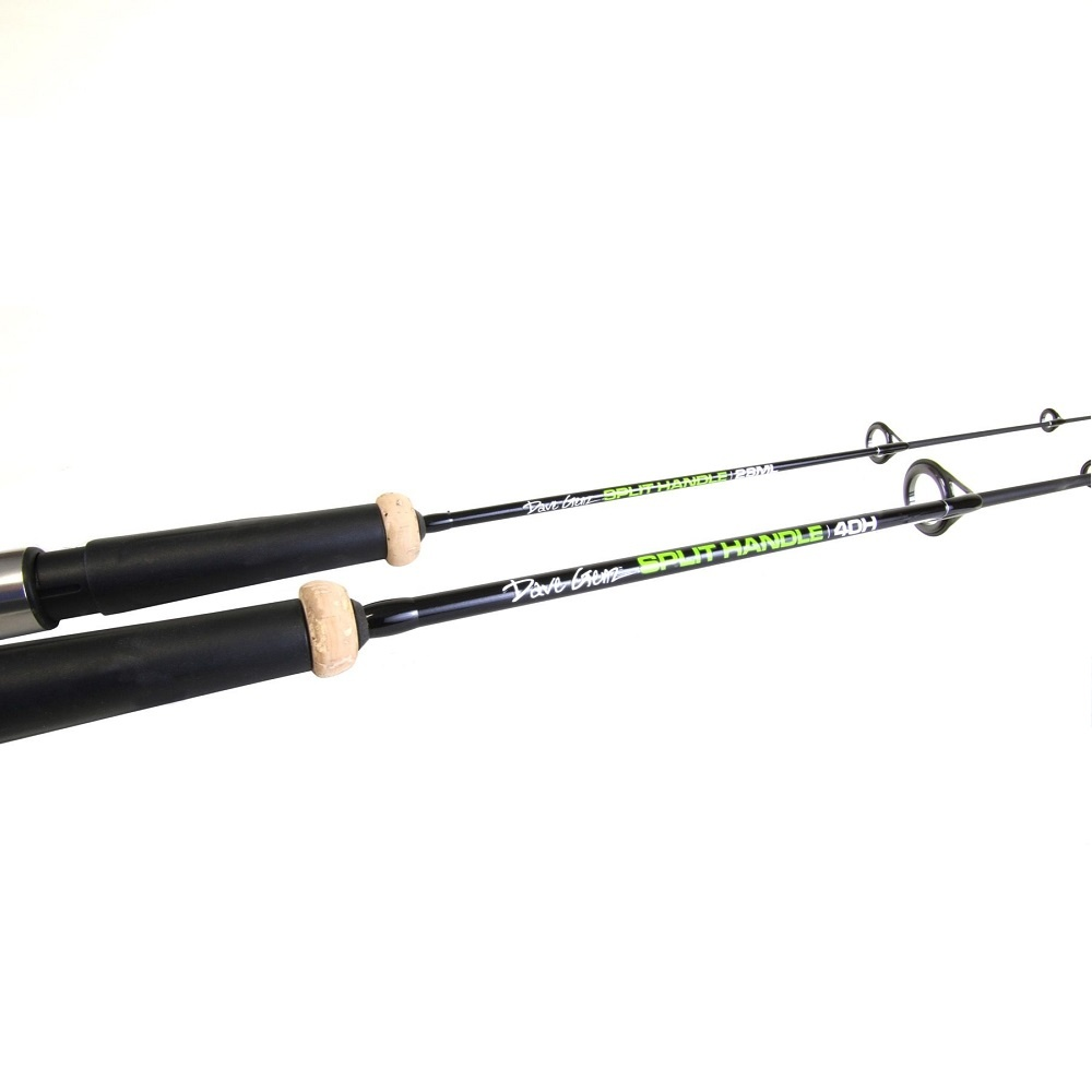 Clam Dave Genz Split Handle Rods