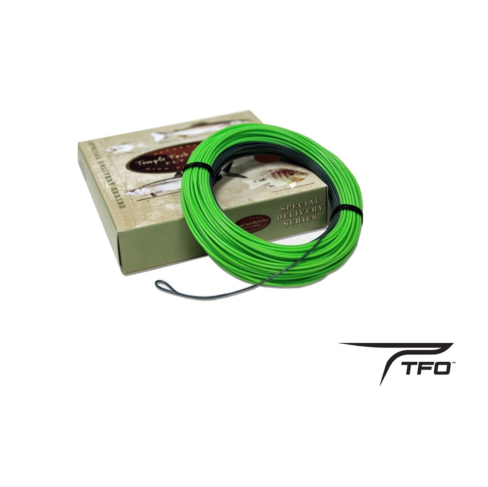 Temple Fork TFO Special Delivery Floating Line With 11ft. Sink Tip