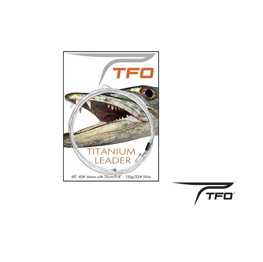 Temple Fork TFO Titanium Leader