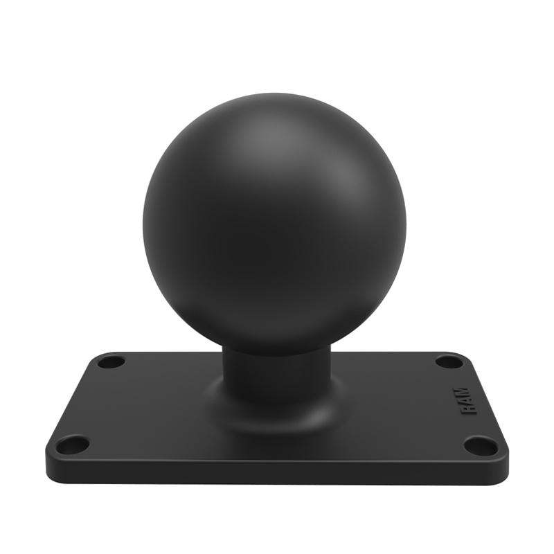 """Ram 2.25"""" Ball Base with 1.5"""" x 3.5"""" 4-Hole Pattern"""