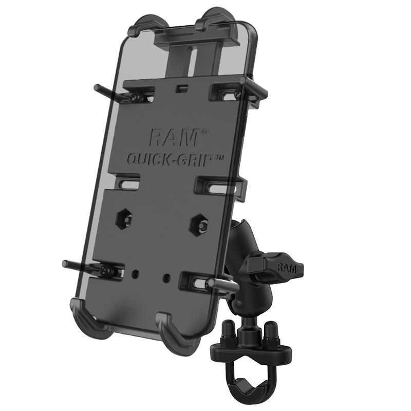 Ram Quick-Grip™ XL Phone Mount with Handlebar U-Bolt Base
