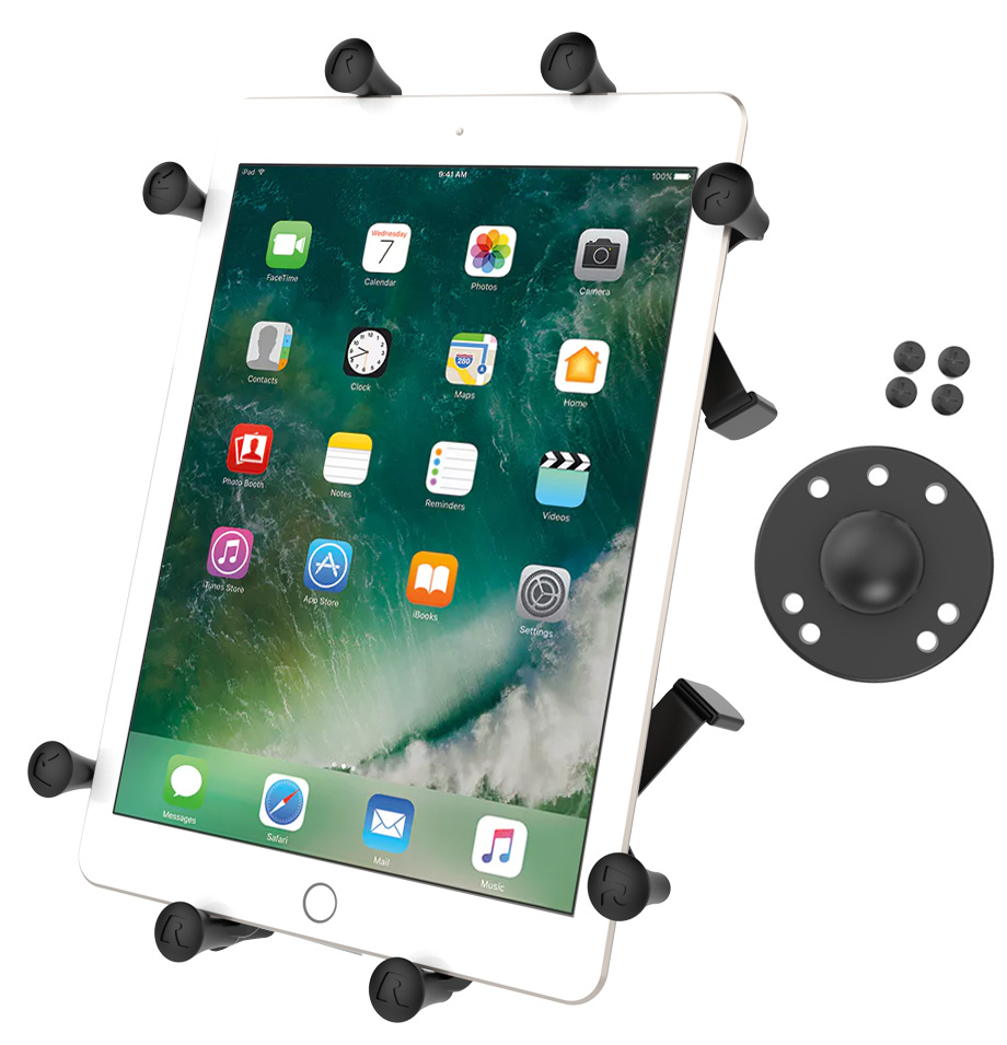 """Ram X-Grip® Holder with Ball for 9""""-10"""" Tablets"""