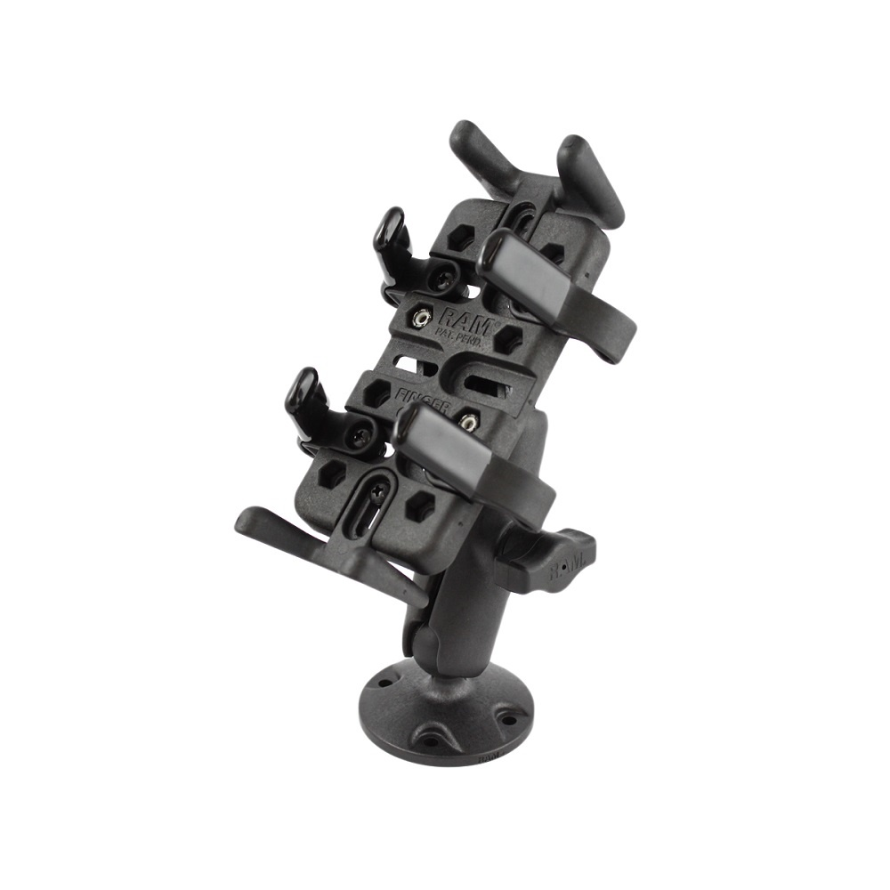 Ram Finger-Grip™ Composite Universal Mount with Drill-Down Base