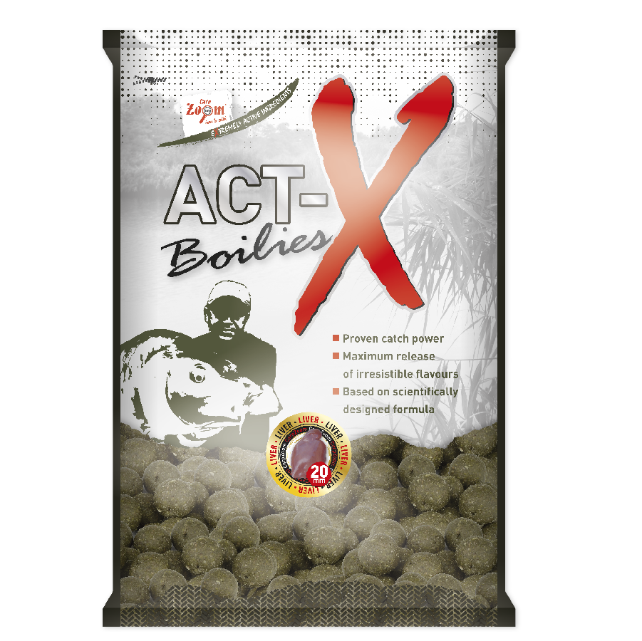 Carp Zoom Active X 16 mm Boilies - Exotic Fruits