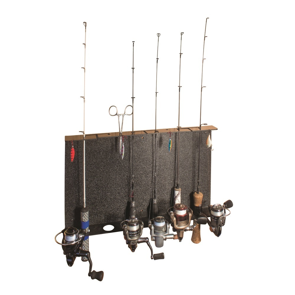 Catch-Cover Wall Mount Ice Rod Rack