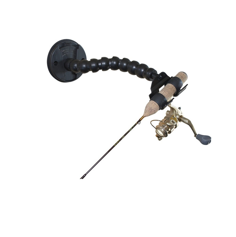 Catch-Cover Multi-Flex Rod Holder with Quick-Disc wall mount