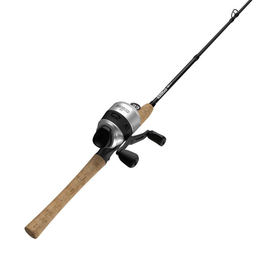 Zebco 33 Cork Spincast Combo 33CC602MA