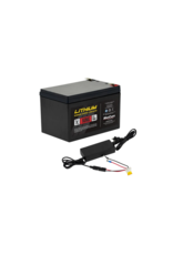 Marcum 12V 18AH LiFePO4 Battery and 6amp Charger