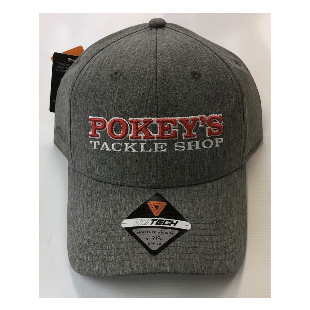 Pokey's Tackle Shop Pokey's Tritech Hat Grey