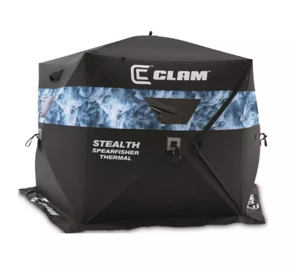 Clam Spearfisher Stealth Thermal Hub  10947