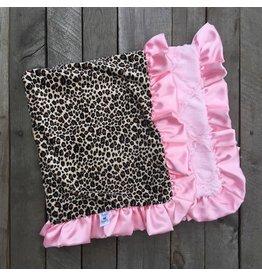 Rockin' Royalty Rockin Royalty- Baby Pink Cheetah Blanket