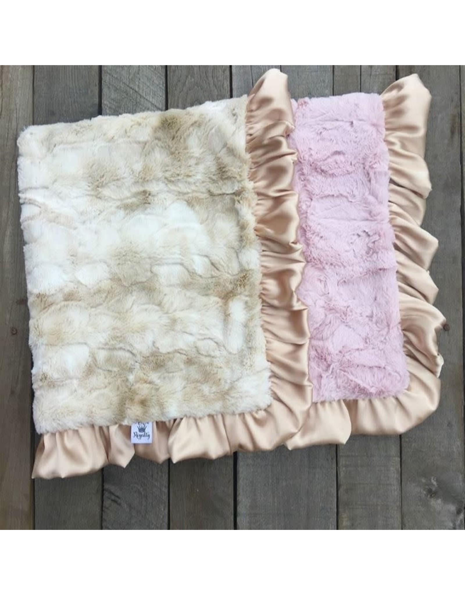 Rockin' Royalty Rockin Royalty- Luxe Rabbit Blush Blanket