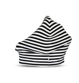 Covered Goods Covered Goods- Black & Ivory Stripe