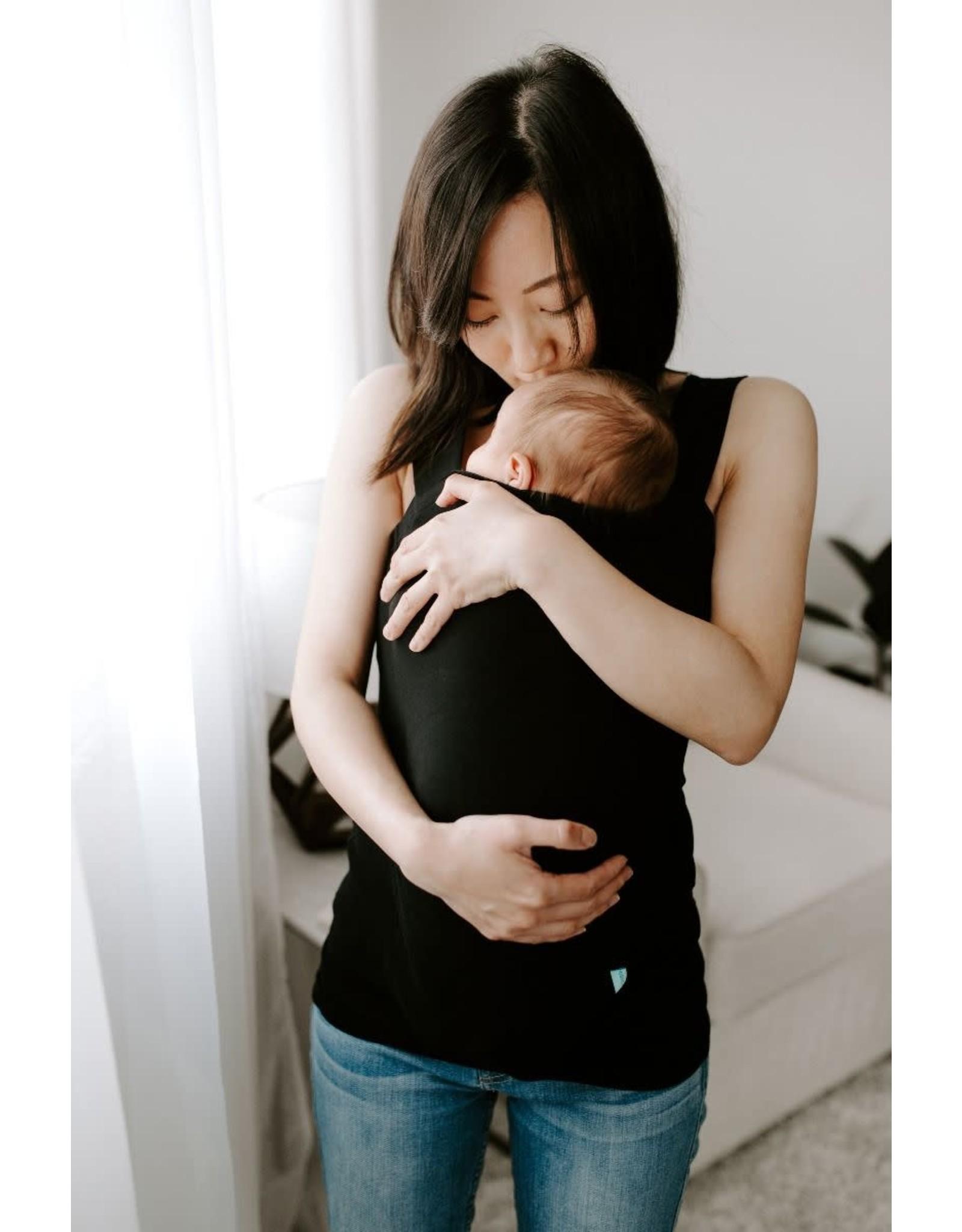 Aden + Anais Aden + Anais - Baby Bonding Top- Solid Black