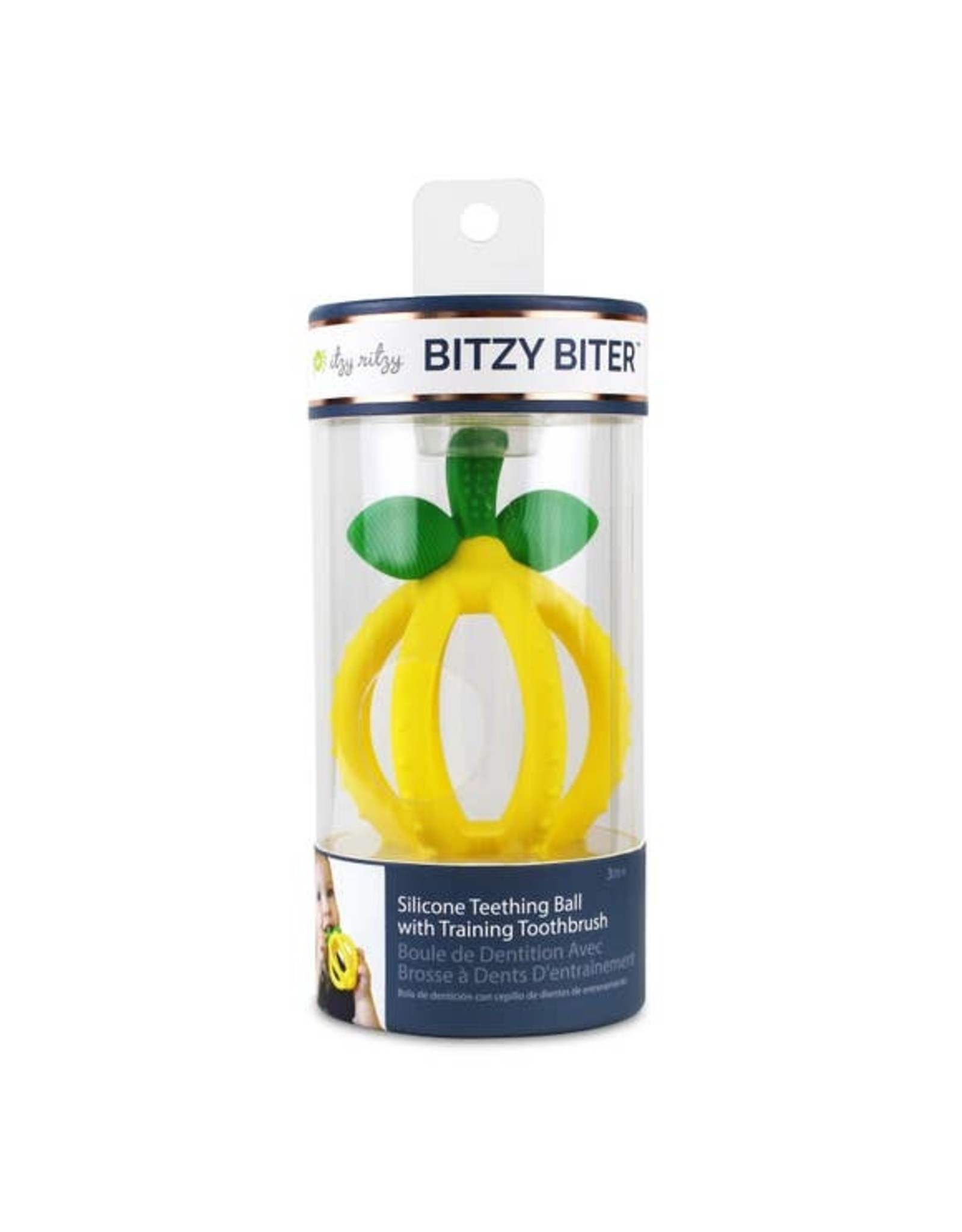 Itzy Ritzy Itzy Ritzy - Bitzy Biter-Lemon Drop