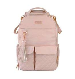 Itzy Ritzy Itzy Ritzy - Boss Diaper Bag Backpack: Blush