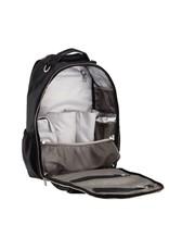 Itzy Ritzy Itzy Ritzy - Boss Diaper Bag Backpack: Black Herringbone