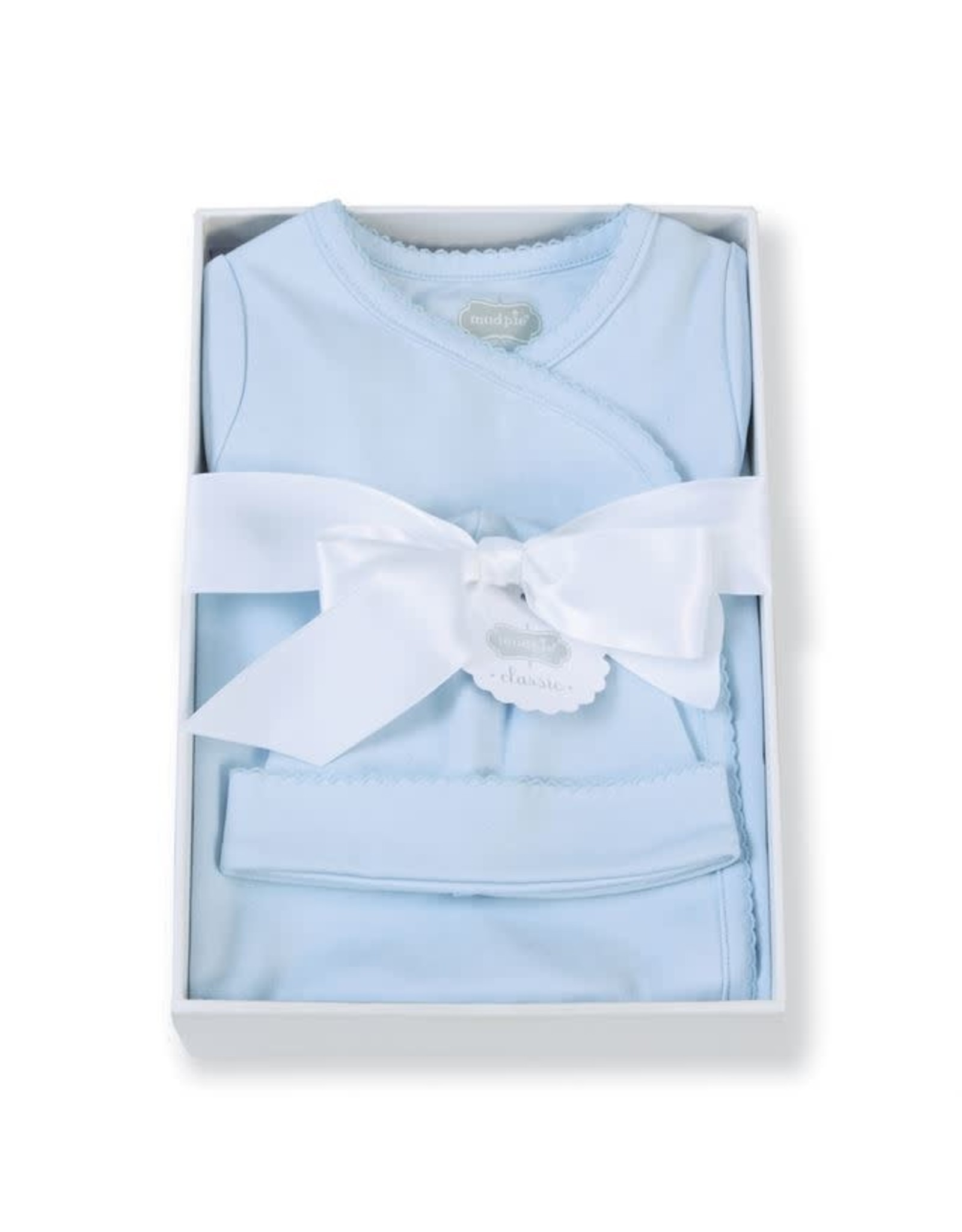 Mudpie Mud Pie - Blue Gift Set 0-3m