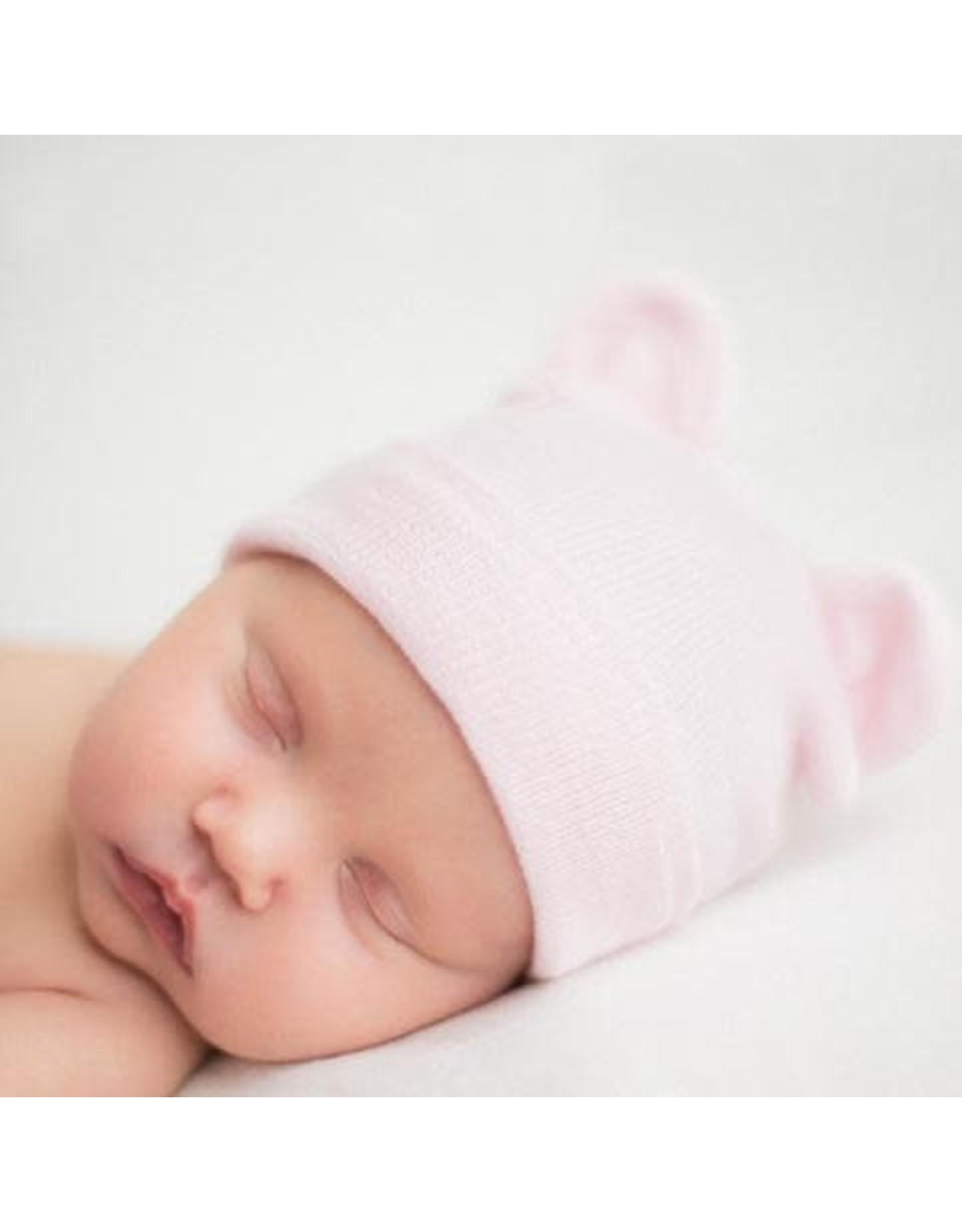 ILYBEAN Ily Bean- Pink Baby Bear Hat