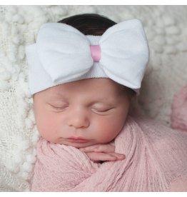ILYBEAN Ily Bean- White Nursery Headband