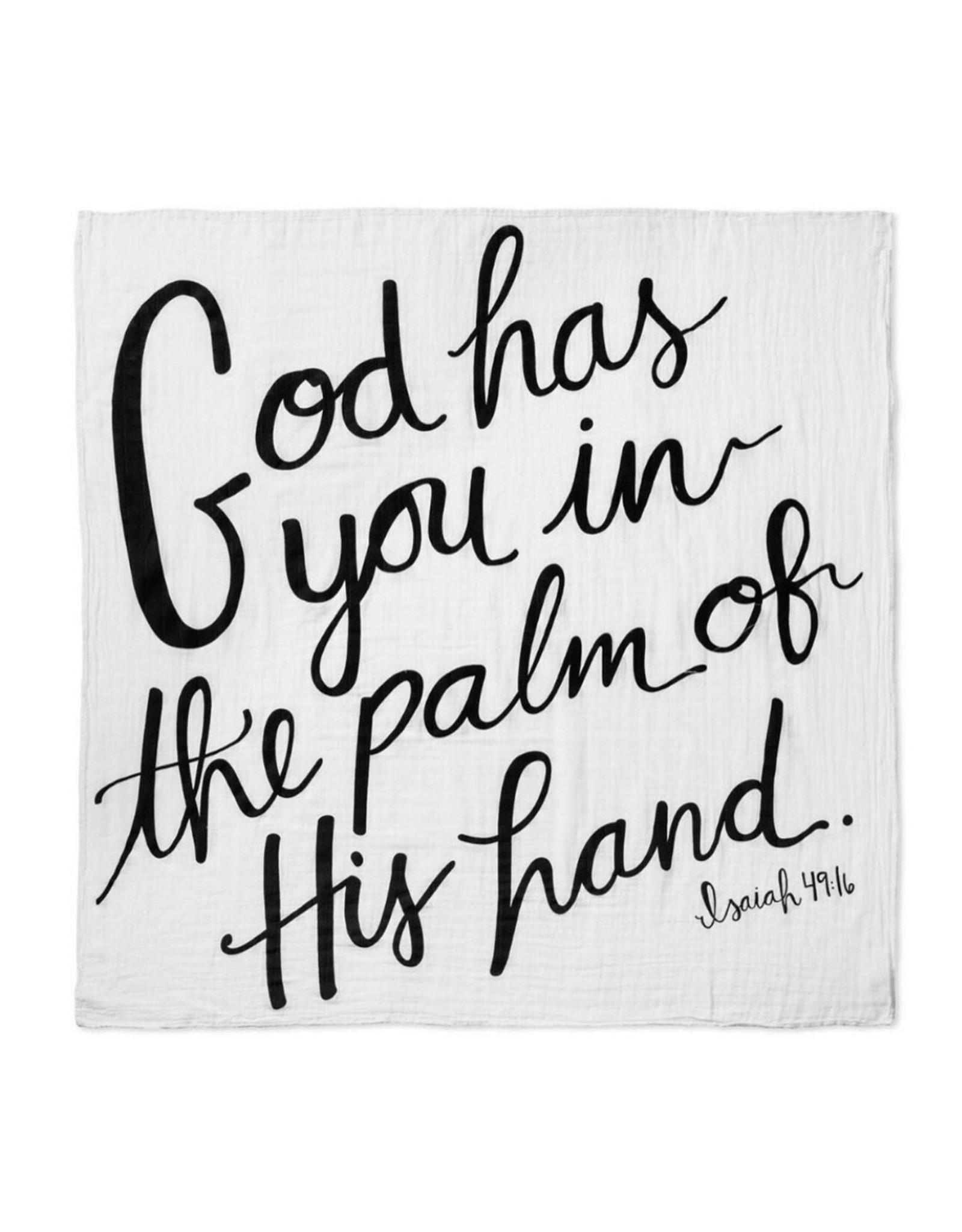 Modern Burlap Modern Burlap- Isaiah 49:16 God has you...Swaddle