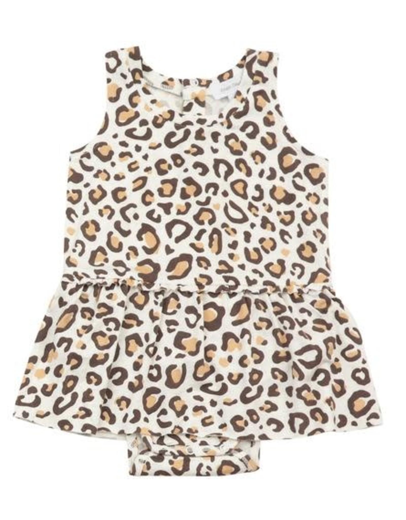 Angel Dear Angel Dear- Leopard Bodysuit w/Skirt