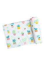 Angel Dear Angel Dear- House Plant Swaddle Blanket 45X45