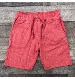 Mish Boys Mish Boys- Distressed Shorts- Red