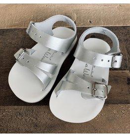 Salt Water Sandals Salt Water Sandals- Sea Wee: Silver