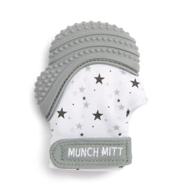 Malarkey Kids Malarkey Kids- Munch Mitt- Grey/Stars