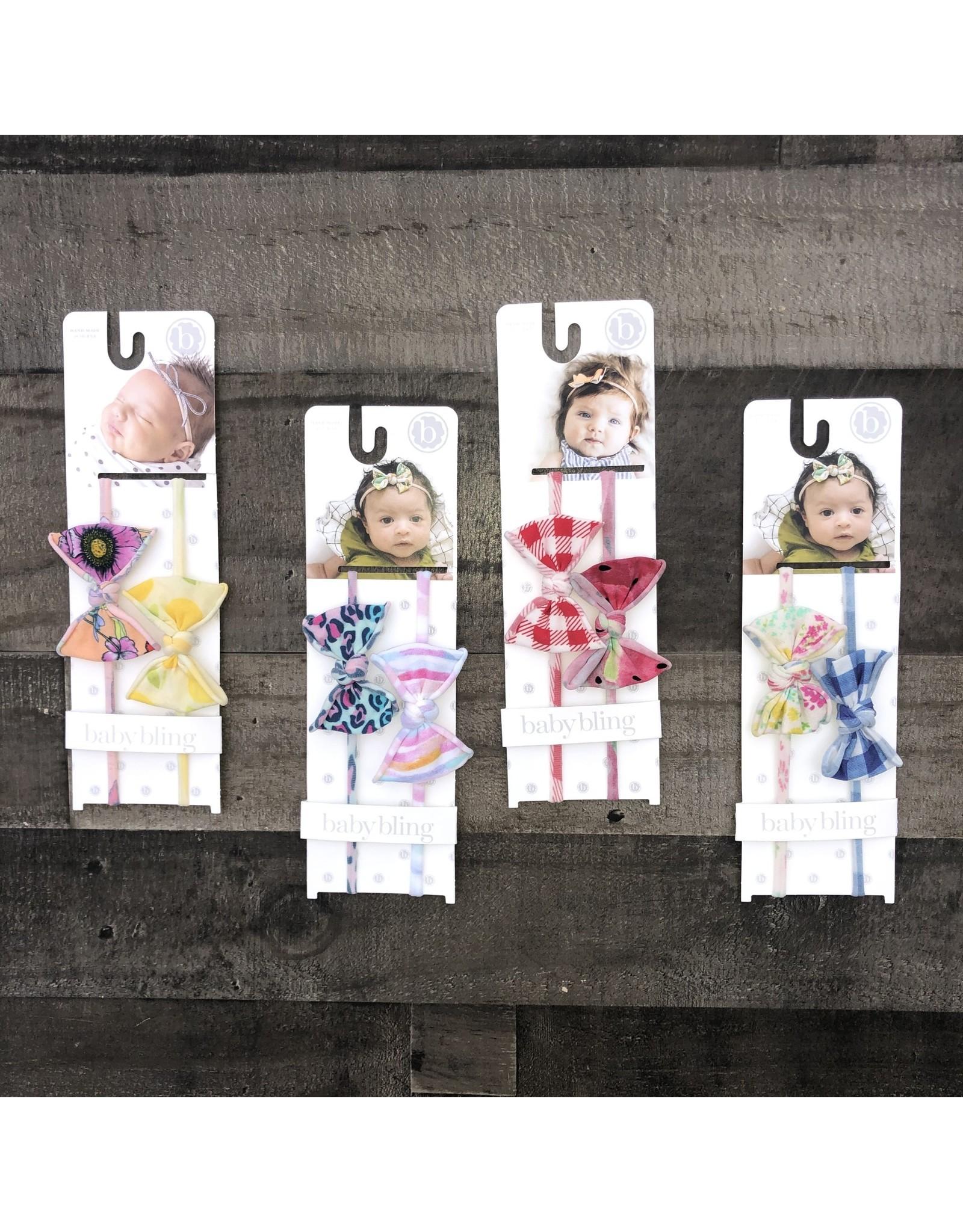Baby Bling Baby Bling- 2PK Mini Print Skinny