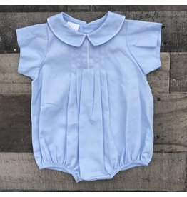 Smocked Giraffe Smocked Giraffe- Lt. Blue Pique Bubble