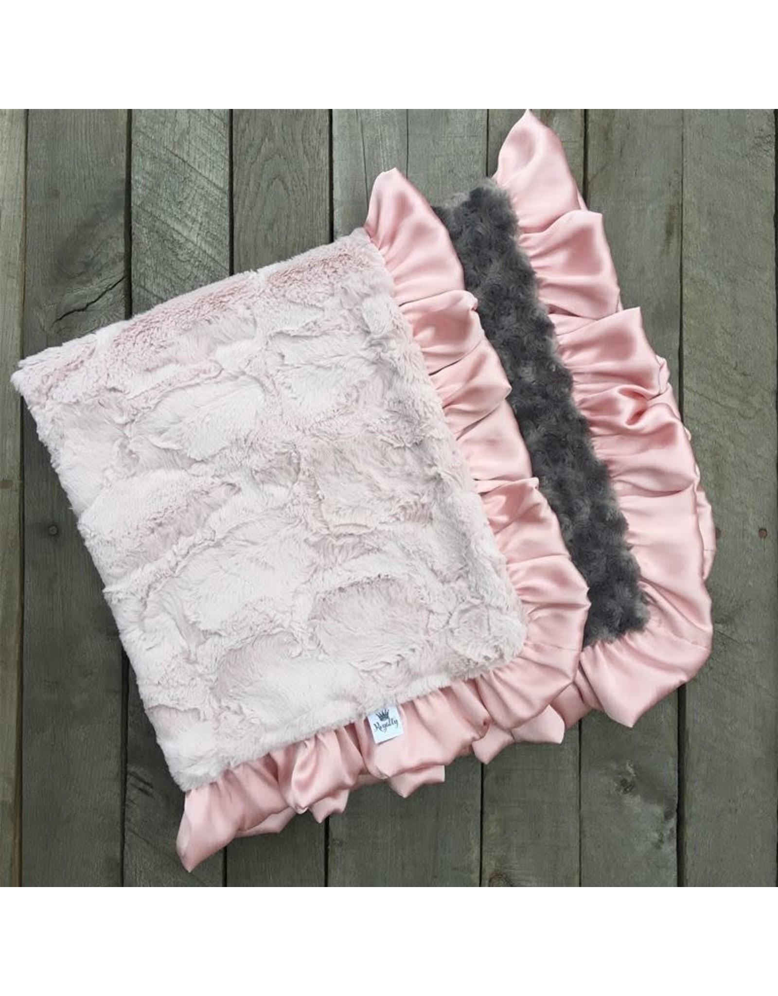Rockin' Royalty Rockin Royalty- Dusty Rose Blanket