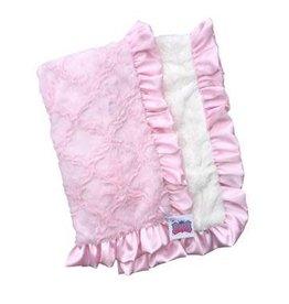 Rockin' Royalty Rockin Royalty- Girly Girl Ruffle Blanket