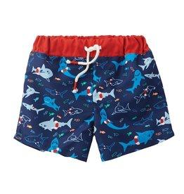 Mudpie Mud Pie- Shark Swim Trunks