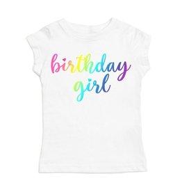 Sweet Wink- Magical Birthday Girl S/S Shirt- White