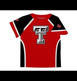 Vive La Fete- Texas Tech Boys Red & Black Tee