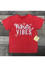 Crumb Snatcher- Patriotic Vibes Red Shirt