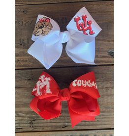 Two Sisters- U of H Handpainted Large Bow