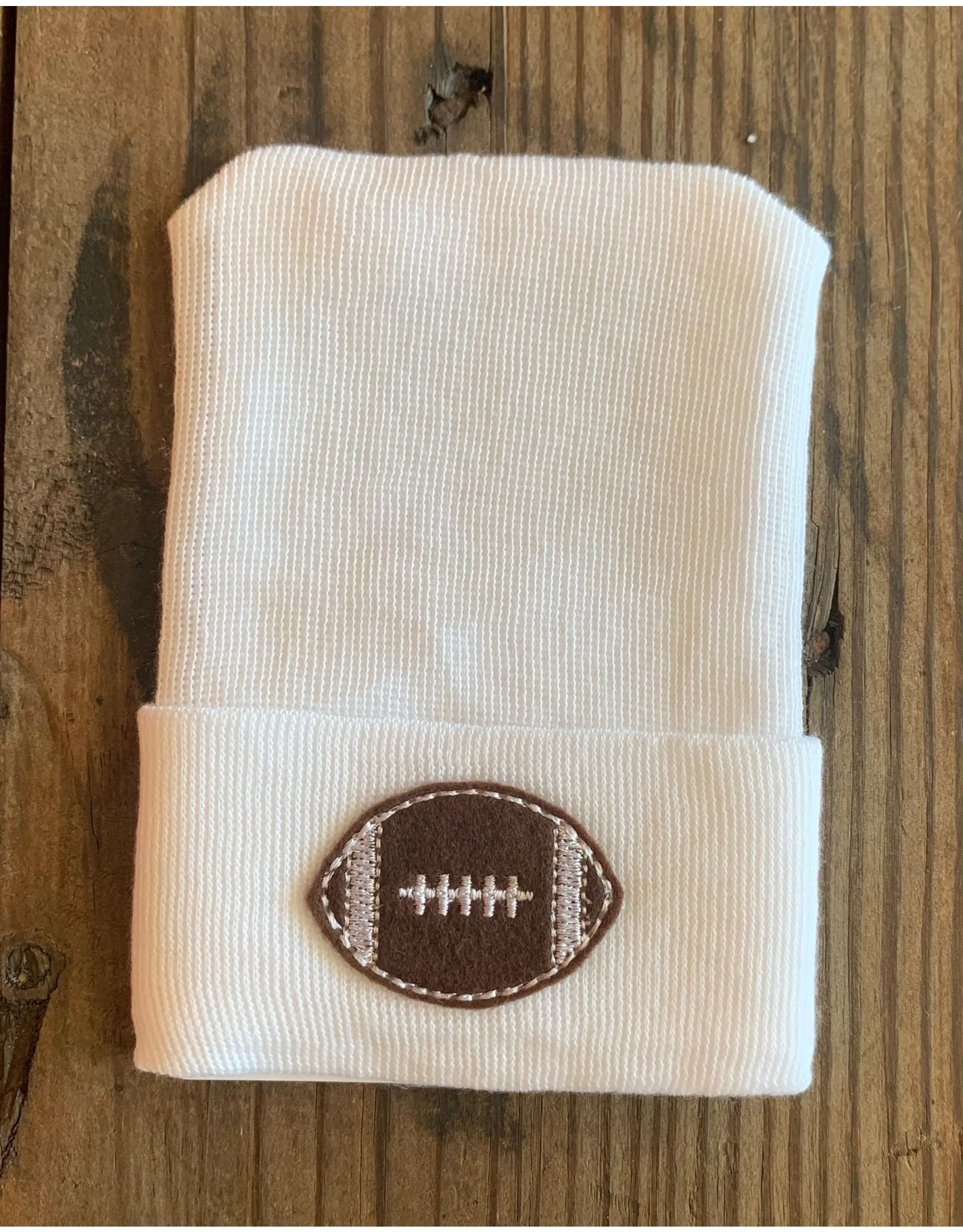 Cradle Cuties - Football Hospital Hat